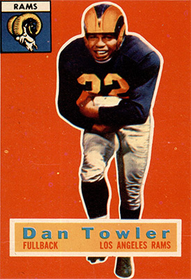 Dan Towler for NFL Hall Of Fame