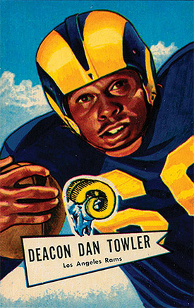 Dan Towler Los Angeles Rams for the Hall of Fame